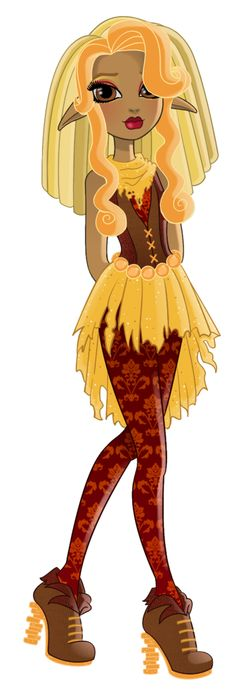 Hi I'm Chloe Stiltskin, daughter of Rumpelstiltkin. I'm a Rebel and a new student here at Ever After High.