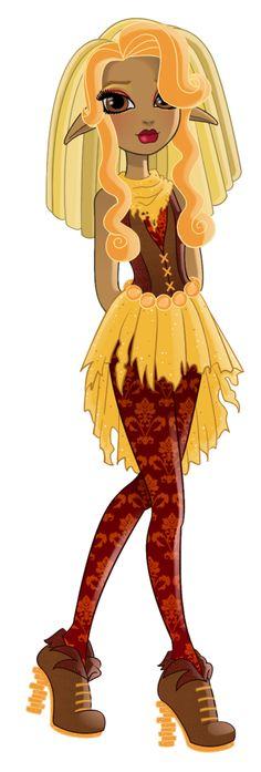Hi I'm Chloe Stiltskin, daughter of Rumpelstiltkin. I'm a Rebel and a new student here at Ever After High.