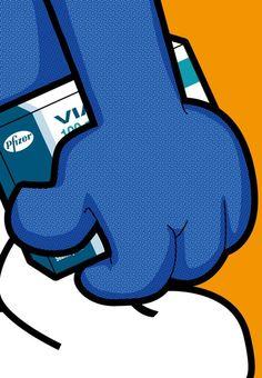 Fictional Heroes Drink Booze, Pop Pills, and Read Karl Marx in Lichtenstein-Inspired Illustration Series Heroes Disney, Secret Life, The Secret, Tableau Pop Art, Fictional Heroes, Fictional Characters, Pop Art Illustration, Different Art Styles, Humor Grafico