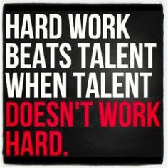 Hard Work Work Hard - Click image to find more Quotes Pinterest pins