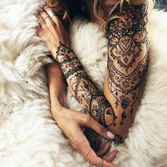 101 Tasteful Lace Tattoos Designs and Ideas