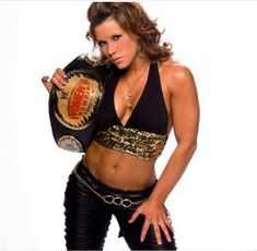 Former wwe divas and women's champion , the gorgeous Mickie James. Wrestling Superstars, Wrestling Divas, Women's Wrestling, Wwe Women's Championship, Mickie James, Wwe Female Wrestlers, Wwe Tna, Wwe Girls, Wwe Womens
