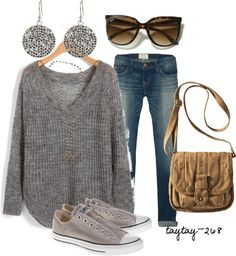 """""""3 Shades of Grey"""" by taytay-268 on Polyvore"""