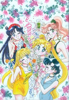 "美少女戦士セーラームーン原画集 Bishoujo Senshi Sailor Moon Original Picture Collection Vol.2 ""Merry Christmas"" by Naoko Takeuchi - The December issue of Nakayoshi 1993, cover"