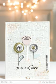 A Trio of March Release Cards by Taheerah  - Products and inspiration from Neat And Tangled: http://neatandtangled.blogspot.com/