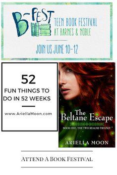 Ariella Moon. Fun Thing #6: Attend a Book Festival. Meet Ariella Moon at B-Fest, Saturday June 11, 2016. Book signing begins at 10 AM. Barnes & Noble, Westfield Mall, Palm Desert, CA
