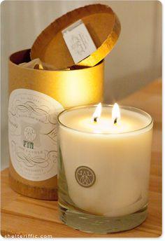 Linnea's Lights candles -