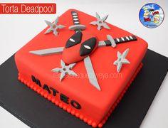 Torta Deadpool - Deadpool Cake                                                                                                                                                     Más