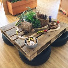 What an incredible small world play idea! #daycarerooms