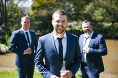 Take a peek inside the Goman wedding. This was a gorgeous country wedding set in Manilla, NSW. Wedding Sets, Groomsmen, Suit Jacket, Breast, Take That, Bride, Suits, Pictures, Jackets