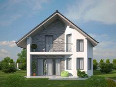 Sims House Plans, House Floor Plans, Modern Bungalow House, Modern Villa Design, Stone Houses, Home Design Plans, Home Fashion, Pavlova, Beautiful Homes