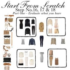 """Start from Scratch 16, 17 & 18 - Part One"" by charlotte-mcfarlane on Polyvore"