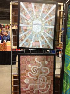 "Beautiful art titled, ""Lost & Found"" (Lost is the bottom picture) at the 2013 ISNA convention in Washington D.C."