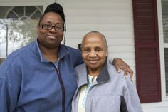"""Lillie Mae Godwin and her daughter Shirley were nearly split up for good when their 108-year-old home became unlivable because of water damage. But thanks to Genesee County Habitat for Humanity, they now live in a decent home of their own. This is one of the reasons """"Why We Build."""""""