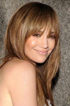 Jennifer Lopez fresh faced make-up