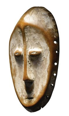 LEGA MASK, DEMOCRATIC REPUBLIC OF THE CONGO Height: 6 3/4 in (17.1 cm) AFRICAN, OCEANIC AND PRE-COLUMBIAN ART INCLUDING PROPERTY FROM THE LERNER, SHOHER AND VOGEL COLLECTIONS SOTHEBY'S, NEW YORK, 11 MAY 2012 SOLD 30,000 USD