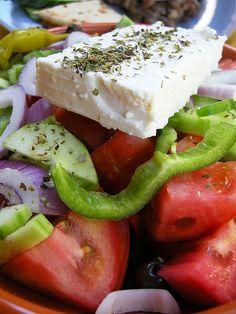 GREEK SALAD | Flickr - Photo Sharing!
