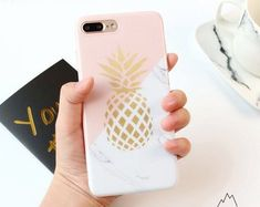 Ollivan 6 s Gold Pineapple Marble case for iphone case silicone soft TPU back cover for iphone 6 plus fundas coque capas Iphone 6, Iphone 8 Plus, Coque Iphone, Iphone Cases, Apple Iphone, Knitting Patterns, Sewing Patterns, Crochet Patterns, Instagram Gallery