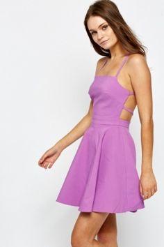 Petite Violet Skater Dress Cheap Clothes 8ae82ded8
