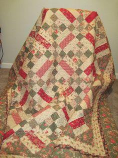 Handmade Quilt with Moda  Sky  - for Sue?