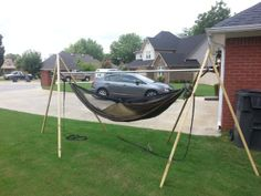my first diy  do it yourself  project  u2013 a hammock stand  sunnydaze 10 u0027 portable camping hammock stand  easy to assemble and      rh   pinterest