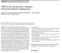 DR JULIAN FERNANDEZ RAMOS: Estudio de Resonancia Magnética en el atrapamiento...