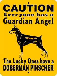 "DOBERMAN PINSCHER DOG SIGN,GUARD DOG SIGN,DOG SIGN,9""x12"" ALUMINUM, GADP1 picclick.com"