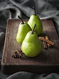 Pears- Photographer Danella Chalmers Styling-Jack Hibbert
