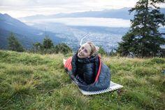 Marmot Daunenjacke   Und auch beim Biwakieren ist sie eine gute zusätzliche Schicht im Schlafsack, wenn es mal richtig kalt ist.