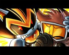 One Hour Sonic 011 - Shard To The Rescue by darkspeeds.deviantart.com on @DeviantArt Shard the robot to the rescue!