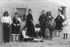 Time Exposures: A Photographic History of Isleta Pueblo in the 19th Century. Opening January 31, 2015.  In this exhibit, the people of Isleta Pueblo in New Mexico tell their own story — their history and the lasting effects of 19th century changes on their lives today.  Photo: Group portrait at Isleta. Charles Lummis- photographer. ND. Courtesy of the Autry National Center/ Southwest Museum, Los Angeles, P_8405  Patron Sponsor, Dino and Elizabeth Murfee DeConcini.