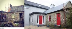Well done to Barbara & Mark on this sustainable cottage restoration & extension that we did Design & Planning on