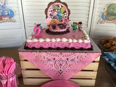 Sheriff Callie Birthday Cake Cumple Sheriff Callie, Sheriff Callie Birthday, Rodeo Birthday, Birthday Cake, Rodeo Party, Horse Party, Cowgirl Party, Bday Girl, 1st Birthday Girls