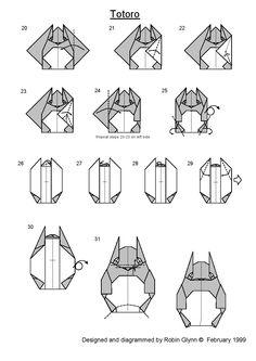 Origami totoro 2.