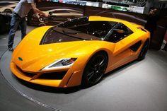 Bristol hybrid supercar concept