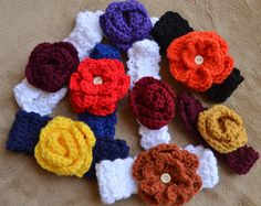 Headband Pick Team Colors Custom Order in your size and color $10.00, via Etsy.