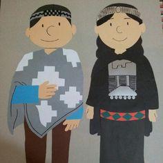 mapuches dibujados por Erwin + mi tecnica top.