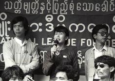 Secondo i primi risultati parziali, la Lega nazionale per la democrazia di Aung San Suu Kyi ha ottenuto la maggioranza dei seggi già assegnati dalla commissione elettorale birmana, sui 491 sottoposti a voto popolare.