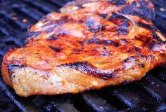 Marinade for pork chops within the oven or on the barbecue- Mari.- Marinade for pork chops within the oven or on the barbecue- Marinade for pork chops within the oven or on the barbecue - - Barbecue Recipes, Steak Recipes, Easy Healthy Recipes, Easy Meals, Bbq Hamburgers, Pork Chop Marinade, Bbq Pork, Pork Chops, Tandoori Chicken