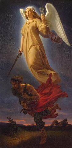 Nemesis Alfred Rethel 1837
