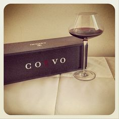 Coevo glass of wine by Colle Vilca