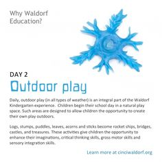 Outdoor Play : Discovering Waldorf - The Magic Onions Middle School Literacy, Education Middle School, Elementary Education, Waldorf Education, Childhood Education, Physical Education, Waldorf Curriculum, Emergent Curriculum, Montessori
