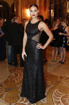 Isis Valverde usa bijouteria caríssima em premiação | Ísis Valverde usa bijuteria caríssima em premiação - Yahoo Mulher