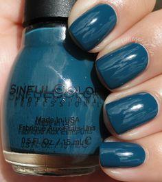 Sinful Colors - Blue Crushin