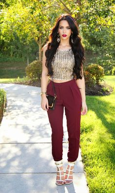 Beauty Bybel: High Waisted Trousers for Fall! ASOS Pants in Crepe.