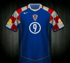 c7e6f3ee3 Croatia away shirt for the 2004 European Championship.