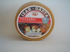Idiazabal DOP - a raw sheep's milk cheese smoked with beech wood. From the Basque Country, Spain. Grapes And Cheese, Milk And Cheese, Sheep Cheese, Queso Cheese, Raw Milk, Cooking Temperatures, Milk Protein, Basque Country, Melted Cheese