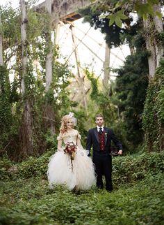 Steampunk wedding shot by Braedon Flynn