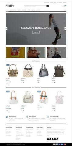 Shopy WordPress Minimalist eCommerce Theme - www.wpchats.com