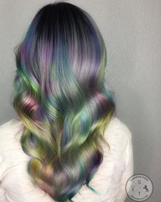 Holographic Hair Color - Hair Colors Ideas